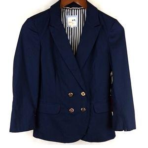 NWT Tommy Girl Navy Blazer Size Medium